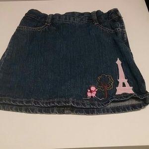 Paris denim Skirt